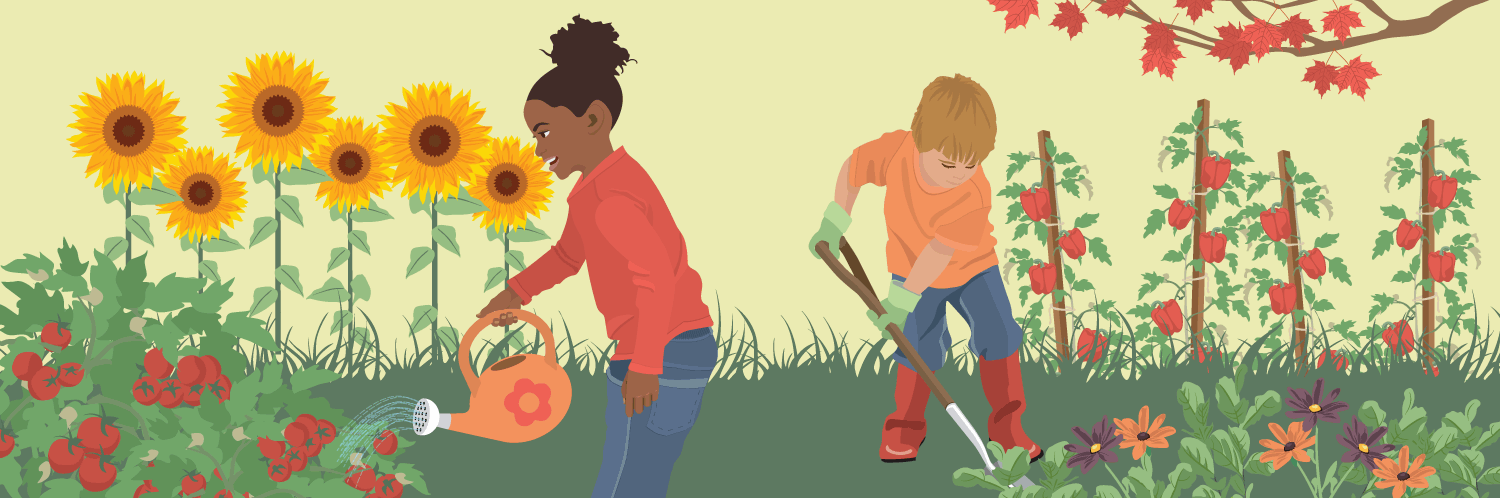 kids gardening cultivating food and life lessons